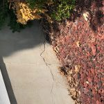 cracking concrete caused by foundation issues