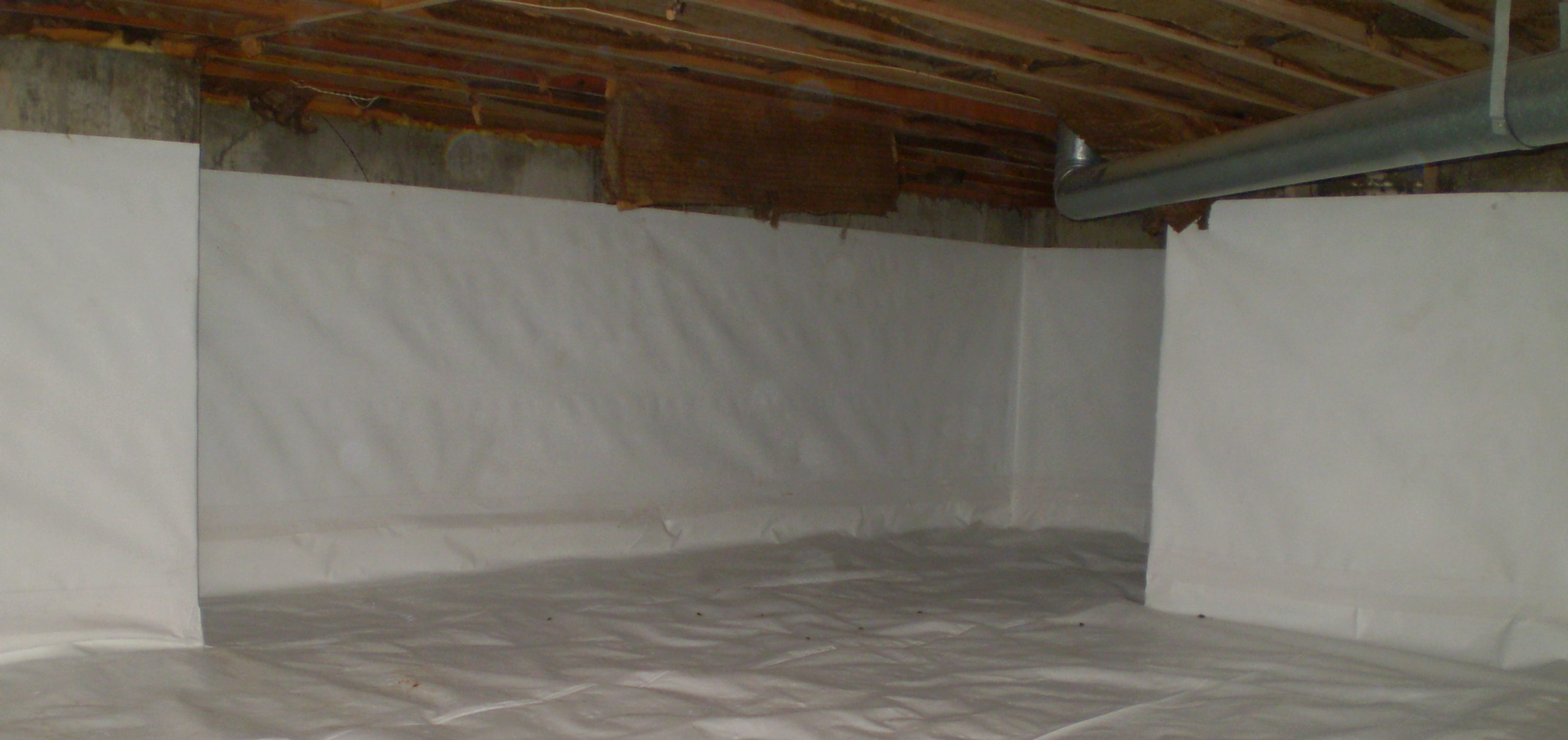 Does Your Crawl Space Need a Vapor Barrier?