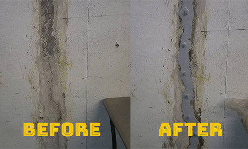 Poly Injection vs Epoxy injection for Foundation Crack Repair