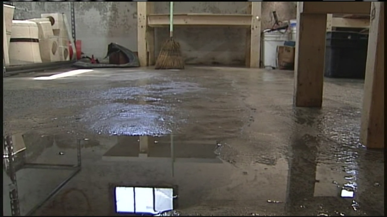 Why is Water Coming Up Through My Basement Floor After Heavy Rain?