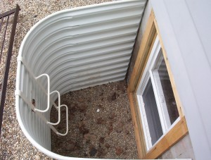 Egress Window Well Installation