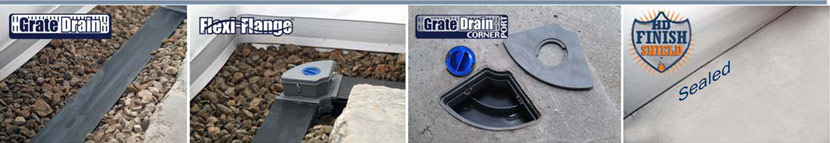 Closed Grate Drain System